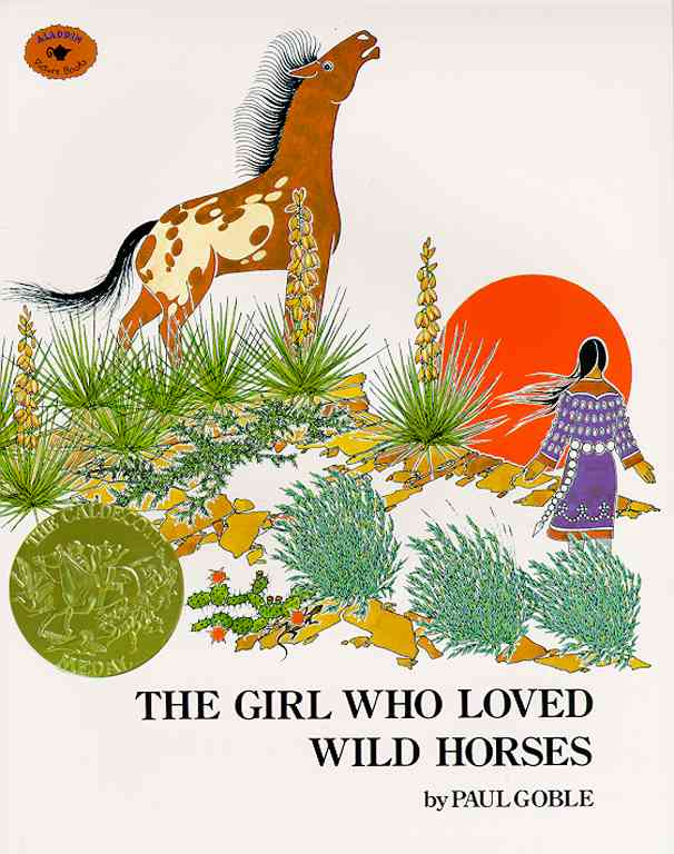 The Girl Who Loved Wild Horses By Goble, Paul